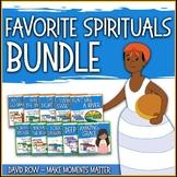 Favorite Spirituals BUNDLE – 10 Song Teacher Kit