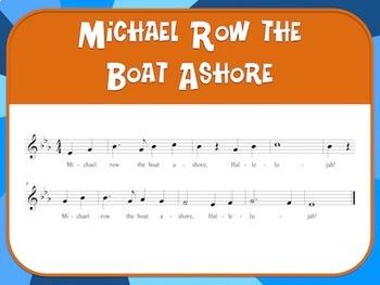 Favorite Spirituals – Michael Row the Boat Ashore Teacher Kit