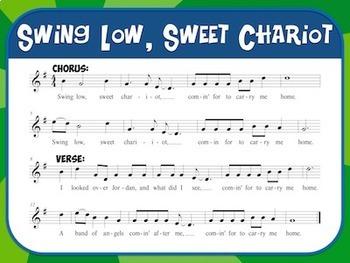 Favorite Spirituals – Swing Low, Sweet Chariot Teacher Kit