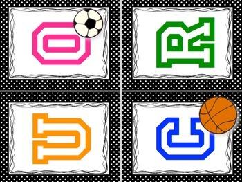Favorite Sports Interactive Bulletin Board