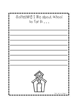 Back to School Journal Prompt Pages