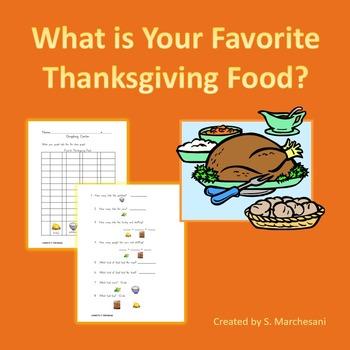Favorite Thanksgiving Food Graph Center