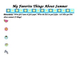 Favorite Things About Summer