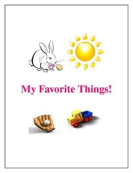 Favorite Things Activities