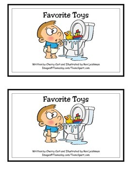 Favorite Toys Guided Reader (-oy family)