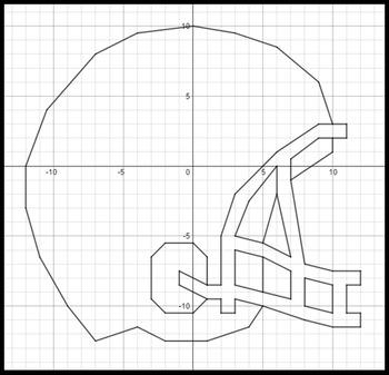 Favorites in Football - 2 Coordinate Graphing Activities Bundle