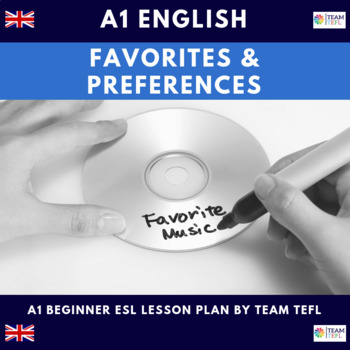 Favourites and Preferences A1 Beginner Lesson Plan For ESL