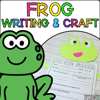 Faythe the Frog {Animal Craftivity and Writing Prompts!}