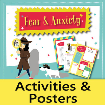 Fear & Anxiety – Activities, Coping Skills and Positive Affirmations (English)