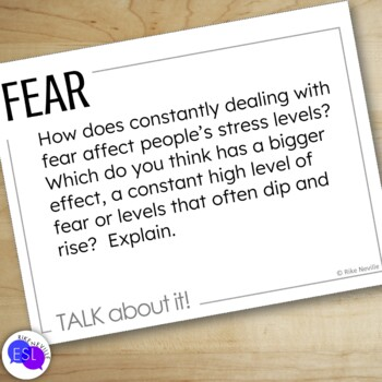 Fear - Discussion Topic