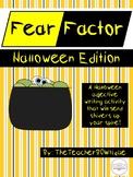 Fear Factor: A Halloween Adjective Writing Activity
