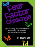 Fear Factor Challenge - Multiplication Facts