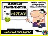 Fear Factor Feature Interactive Classroom Challenge, transformation, escape
