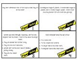 Fear Factor Sun and Stars Test Review Task Cards