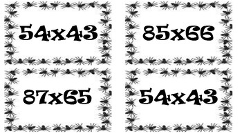 Fear Factor Task Cards