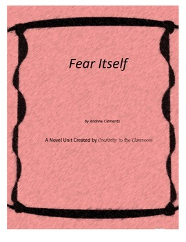 Fear Itself Novel Unit Plus Grammar