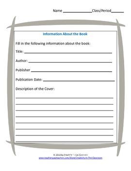 Fear Itself Novel Unit Plus Grammar