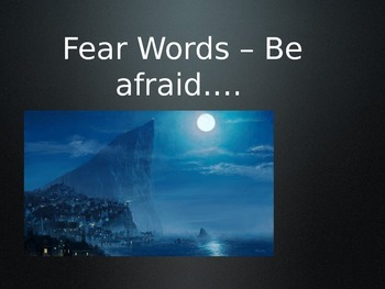 Fear Words