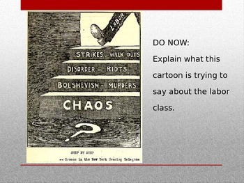 Fear of Communism During the 20s