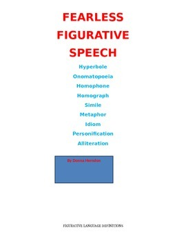 Fearless Figurative Speech