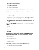Fears and Phobias Collections Grade 6 Test