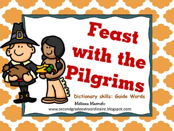 Feast with the Pilgrims: Dictionary Skills
