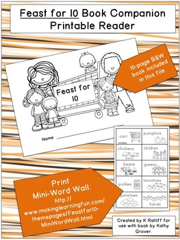 Feast for 10:  Book Companion Printable Reader