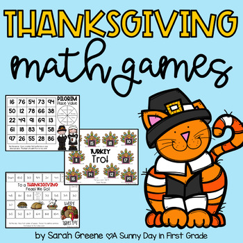 Feast of Fun {7 Thanksgiving Math Games & Activities!}
