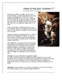 Feast of the Guardian Angels Worksheet