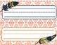 Feather Boho Desk Name Tags