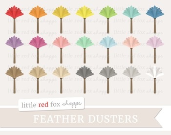 Feather Duster Clipart; Cleaning, Dusting, Clean, Supplies