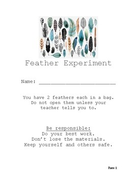 Feather Experiment