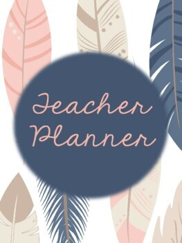 Feather Teacher Binder 2018-2019