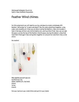 Feather Windchimes