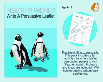 Feather World: Write A Persuasive Leaflet (9-13 years)