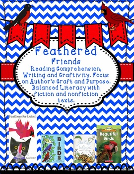 Spring Activities Birds, Feathers For Lunch, Fiction and Nonfiction