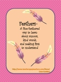 Feathers:  A Fine-Feathered Way to Learn about Rumors
