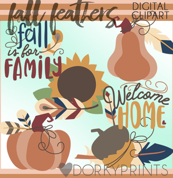 Feathers Fall Clipart