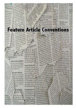 Feature Article Conventions