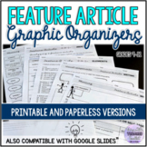 Feature Article Graphic Organizers (Writing Booklet)