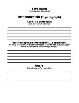 Feature Article Packet