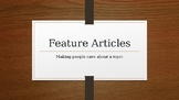 Feature Article Writing