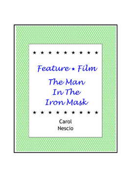 Feature * Film ~ The Man In The Iron Mask