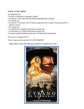 Feature * Film ~ Cyrano de Bergerac