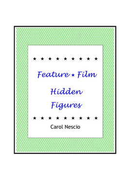 Feature * Film ~ Hidden Figures