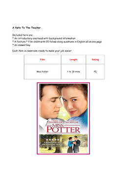 Feature * Film ~ Miss Potter