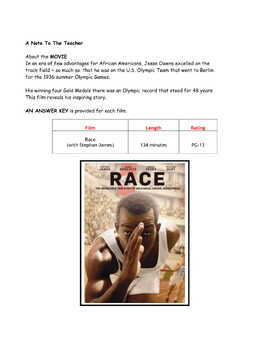 Feature * Film ~ Race ~ The Story of Jesse Owens