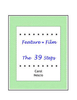 Feature * Film ~ The 39 Steps