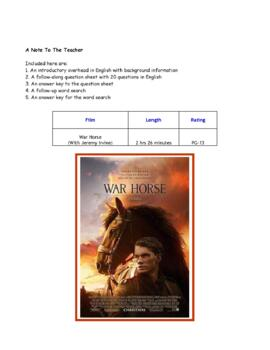 Feature * Film ~ War Horse ~ Movie Guide