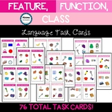 Feature, Function, Class Task Cards (FFC) (sped/autism)
